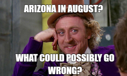 Arizona in August