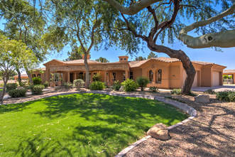Acre horse property with guest house in Gilbert, AZ